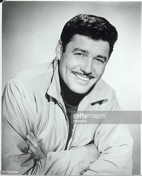 Studio portrait of Guy Williams star of television series 'Lost In Space' 19651968 Ca 1960s