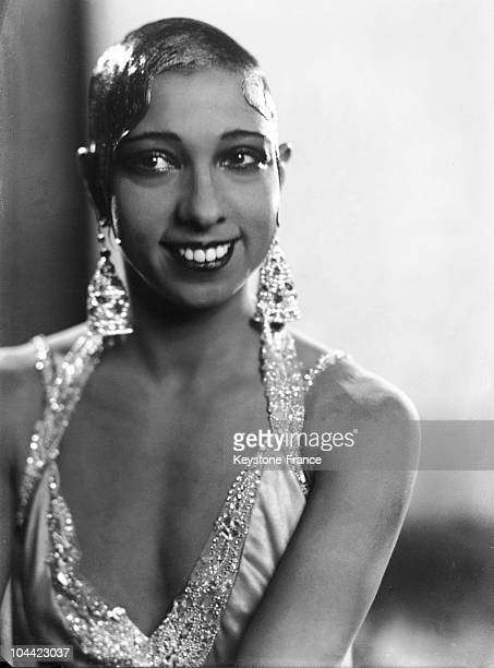 Studio Portrait Of Josephine Baker Between 1930 And 1935
