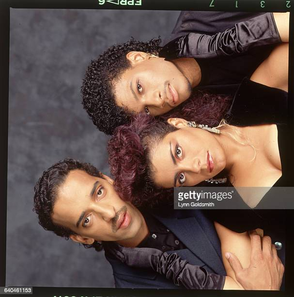 Studio portrait of Lisa Lisa and the Cult Jam Undated photograph