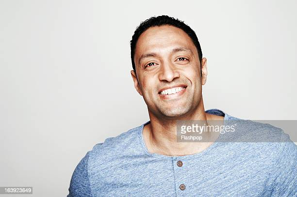 studio portrait of man - 35 year old man stock pictures, royalty-free photos & images