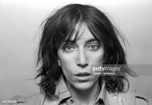 Studio portrait of Patti Smith Amsterdam Netherlands 9th October 1976