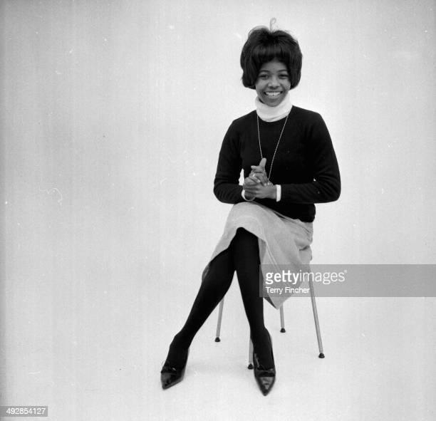 Studio Portrait of pop singer Millie Small April 14th 1964