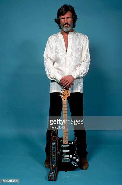 Studio Portrait of Singer Kris Kristofferson