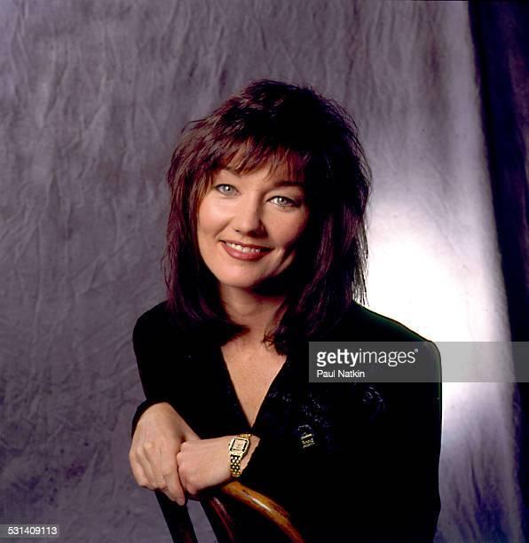 Studio portrait of singer Lari White Nashville Tennessee December 1 1994
