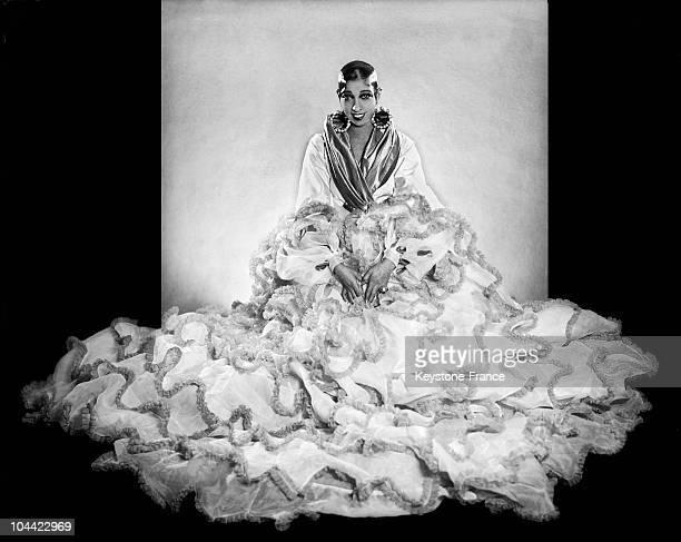 Studio Portrait Of The Dancer Josephine Baker Between 1930 And 1935
