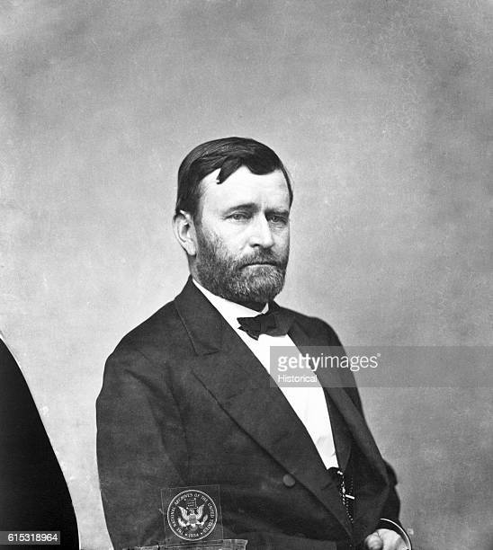 Studio portrait of Ulysses Simpson Grant while he served as a Union General during the American Civil War