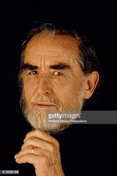 Studio portrait of Vittorio Gassman