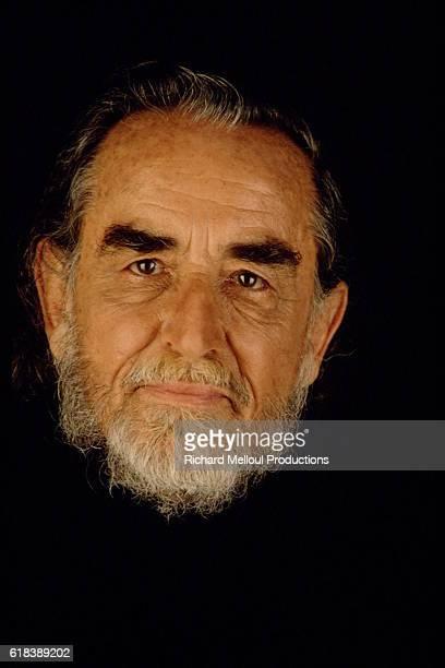 Studio portrait of Vittorio Gassman.