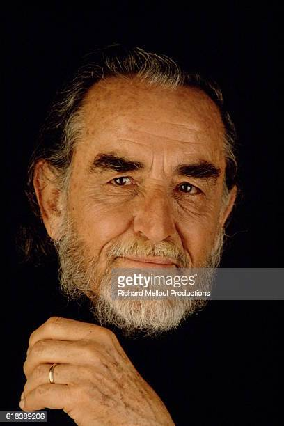 Studio portrait of Vittorio Gassman.