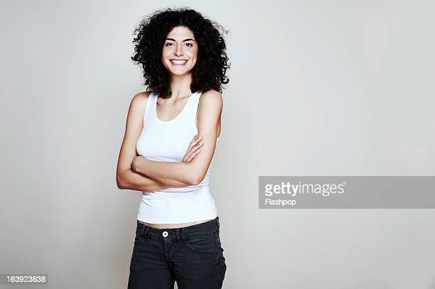 studio portrait of woman - young women stock pictures, royalty-free photos & images