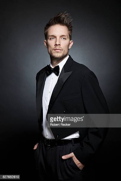 studio portrait of young wearing tailcoat - dinner jacket stock pictures, royalty-free photos & images