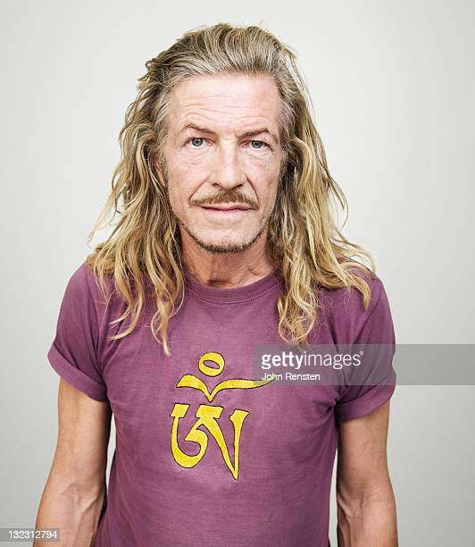 studio portrait - long hair stock pictures, royalty-free photos & images