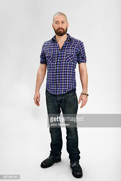 studio portraits of ordinary people - checked shirt stock photos and pictures