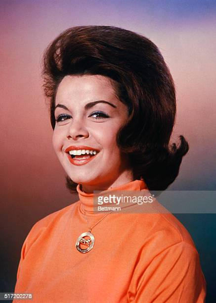 Studio publicity handout of actress Annette Funicello famous Mousekeeter and costar with Frankie Avalon of many beachthemed movies from the 60's