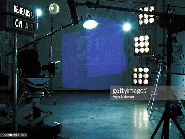 TV studio set