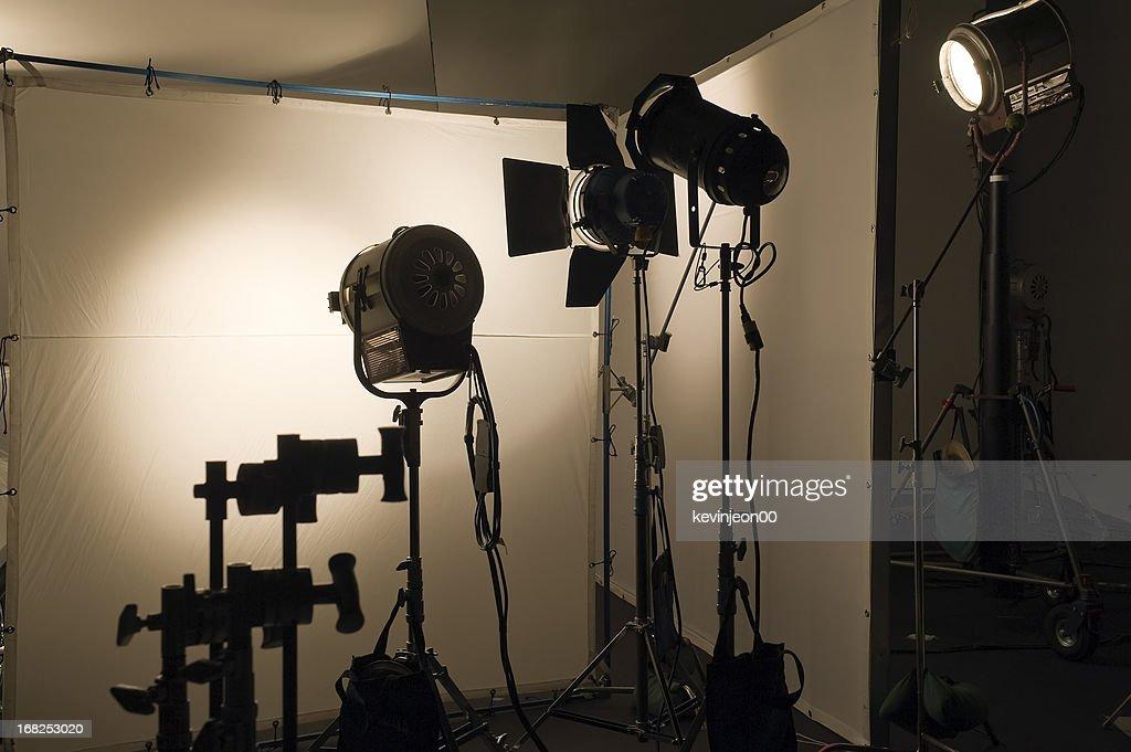 Studio shooting set : Stock Photo