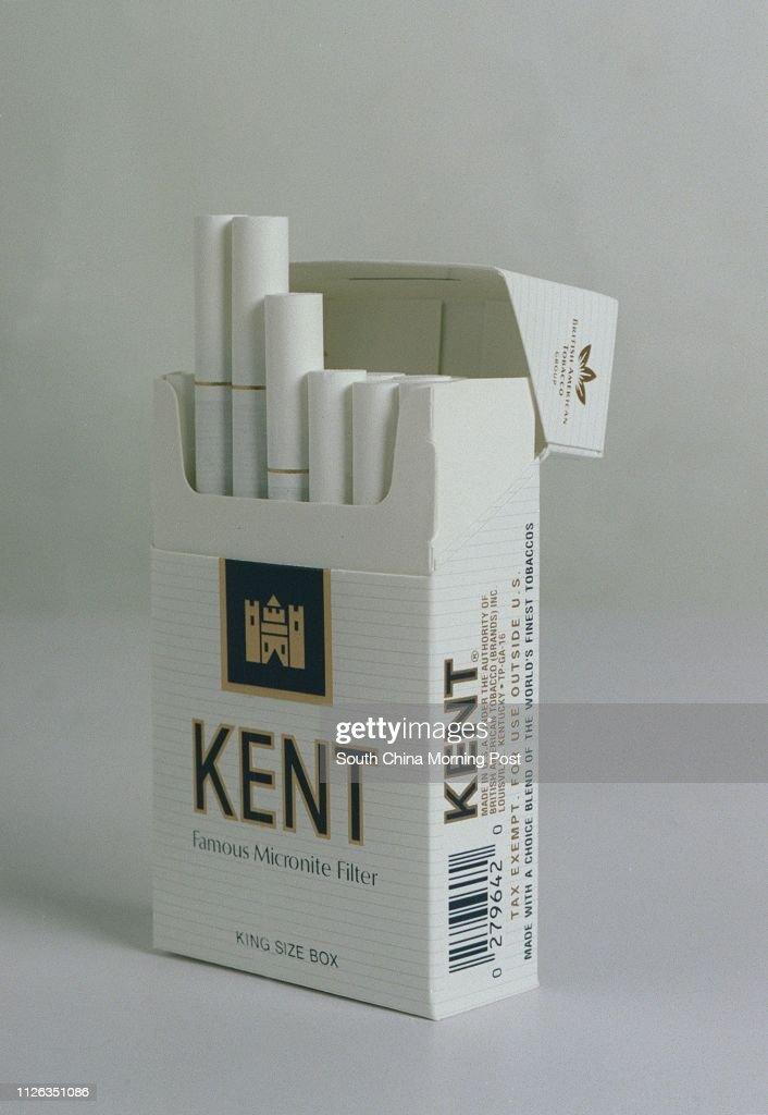 A studio shot of a pack of Kent cigarettes  20 November 2002 News
