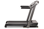 Studio shot of a professional treadmill