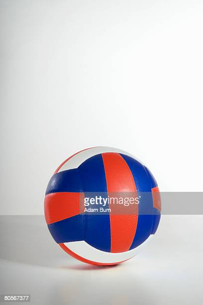 Studio shot of a volleyball