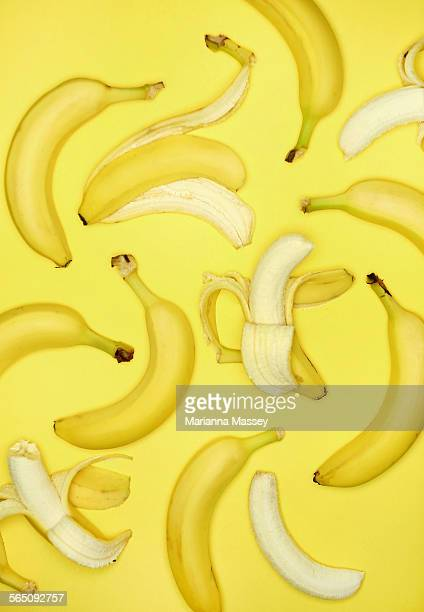 Studio Shot of Bananas