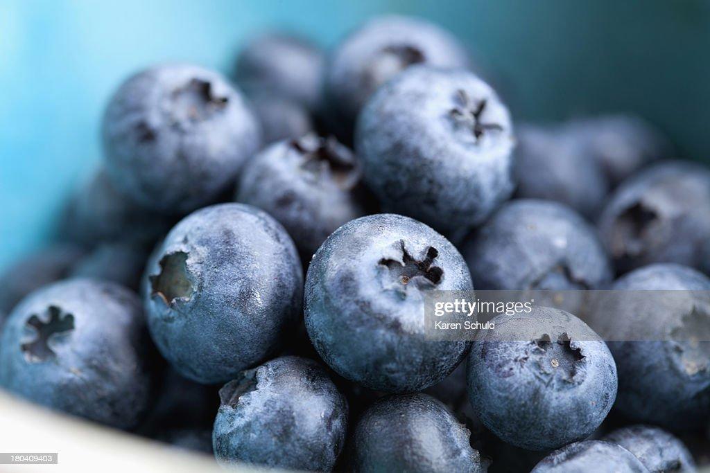 Studio Shot of blueberries : Stock Photo