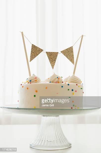 Studio Shot of brithday cake