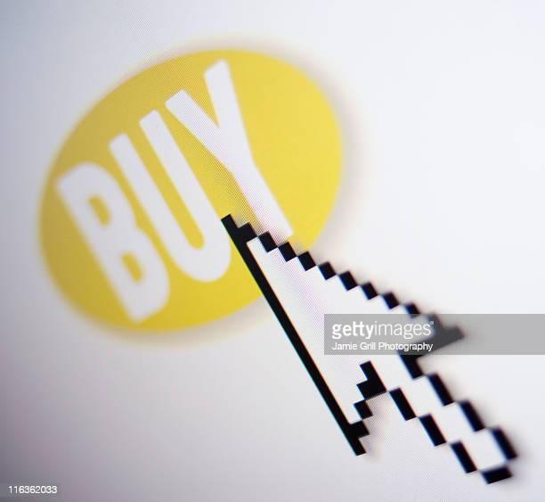 Studio shot of buy icon