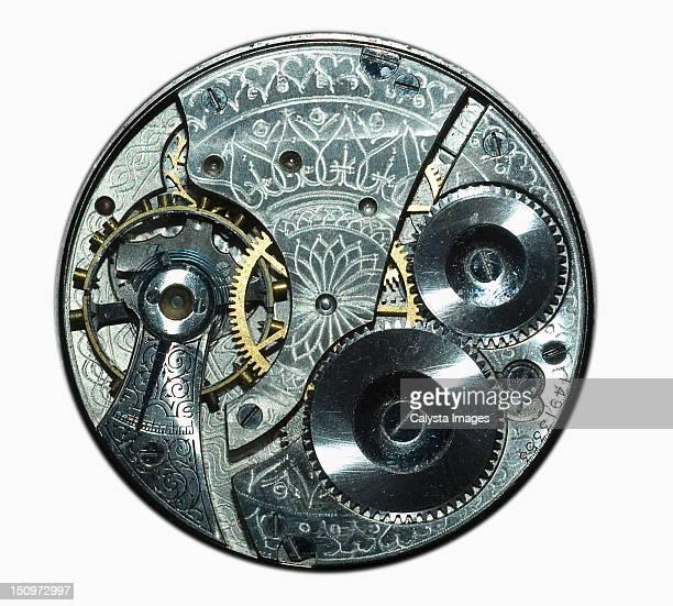Studio shot of complex clockwork