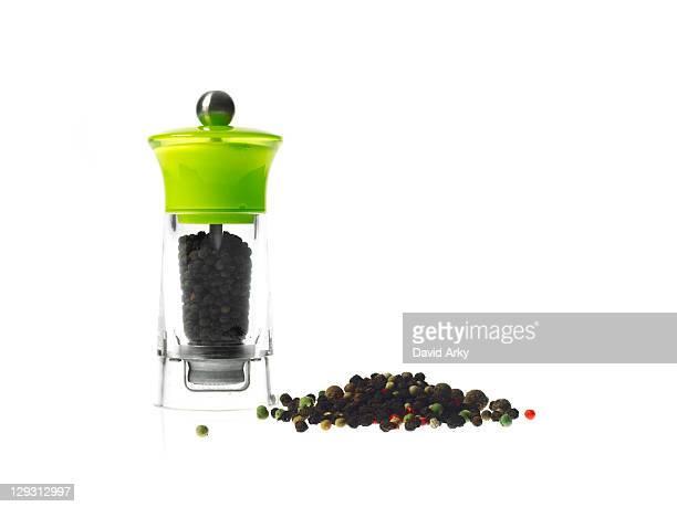 Studio shot of pepper grinder