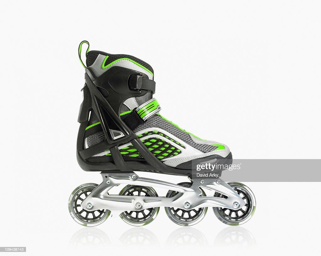 Studio shot of rollerblade shoe : Stock Photo
