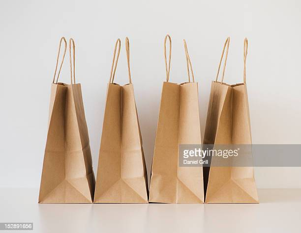 Studio shot of shopping bags
