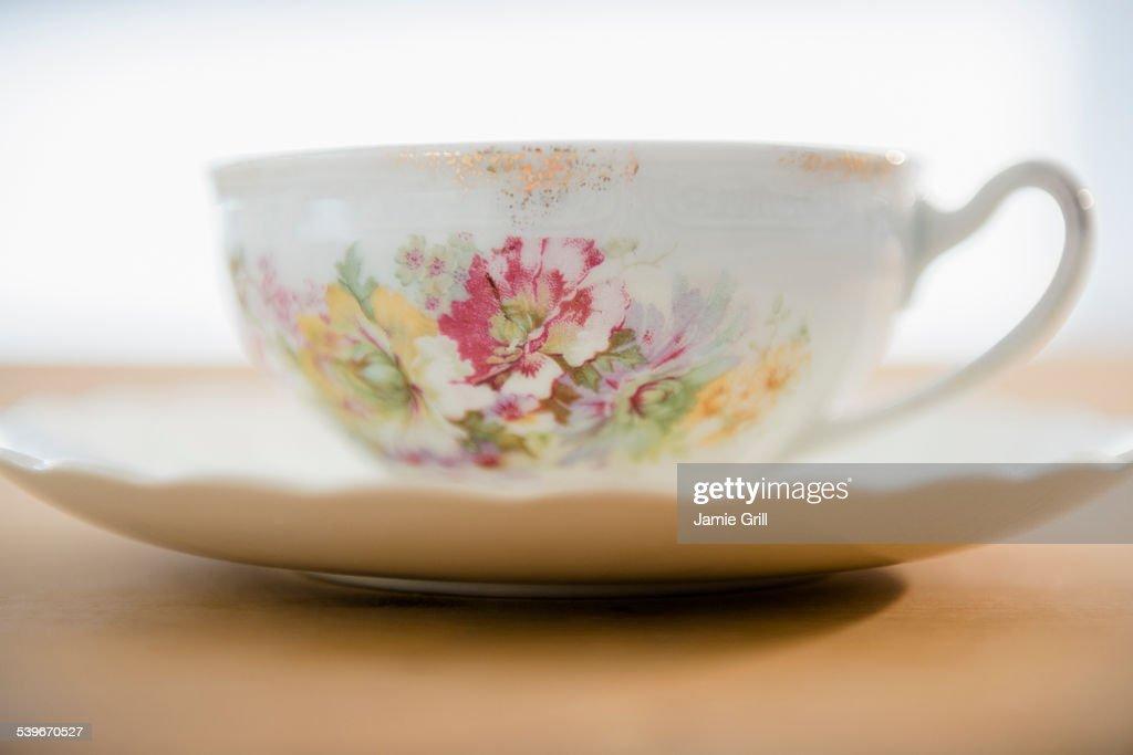 Studio shot of tea cup : Stock Photo