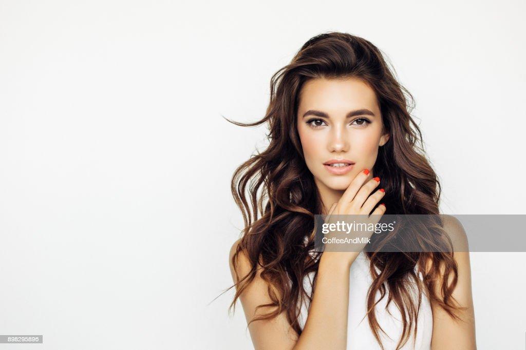 Foto de estúdio de um jovem Mulher bonita : Foto de stock