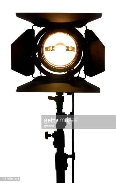 studio local, equipamento de iluminação com um celeiro portas destinadas ao espectador - spotlight filme - fotografias e filmes do acervo