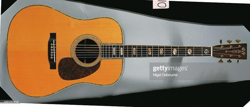 Vintage Martin Flat-Top : News Photo