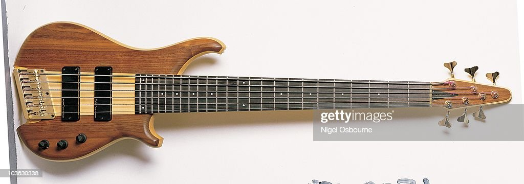 studio still life of a 1989 tune six string bass guitar photographed news photo getty images. Black Bedroom Furniture Sets. Home Design Ideas