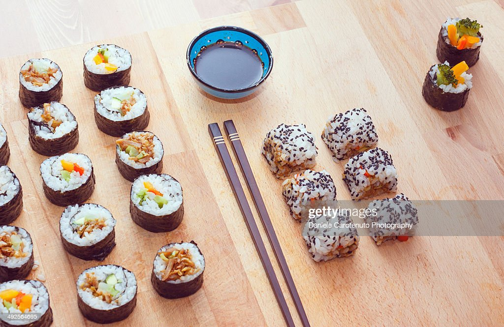 Studio Sushi : Stock Photo