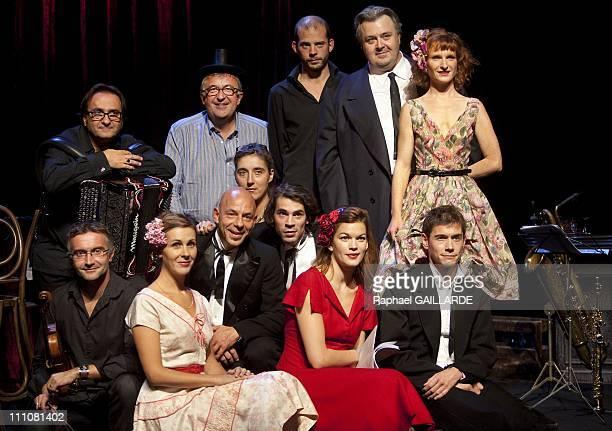 Studio Theatre de la Comedie Francaise 'Chansons des jours avec et chansons des jours sans' directed by Philippe Meyer in the style of la prochaine...