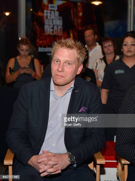 Studios CoHead and Executive Vice President Finance Studio Operations Stefan Reinhardt attends the grand opening of the Fear the Walking Dead...