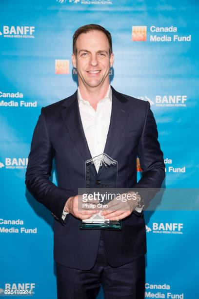 Studios President Patrick Moran attends the Rockie Awards Program Competiton during the 2017 Banff World Media Festival at the Fairmont Banff Springs...
