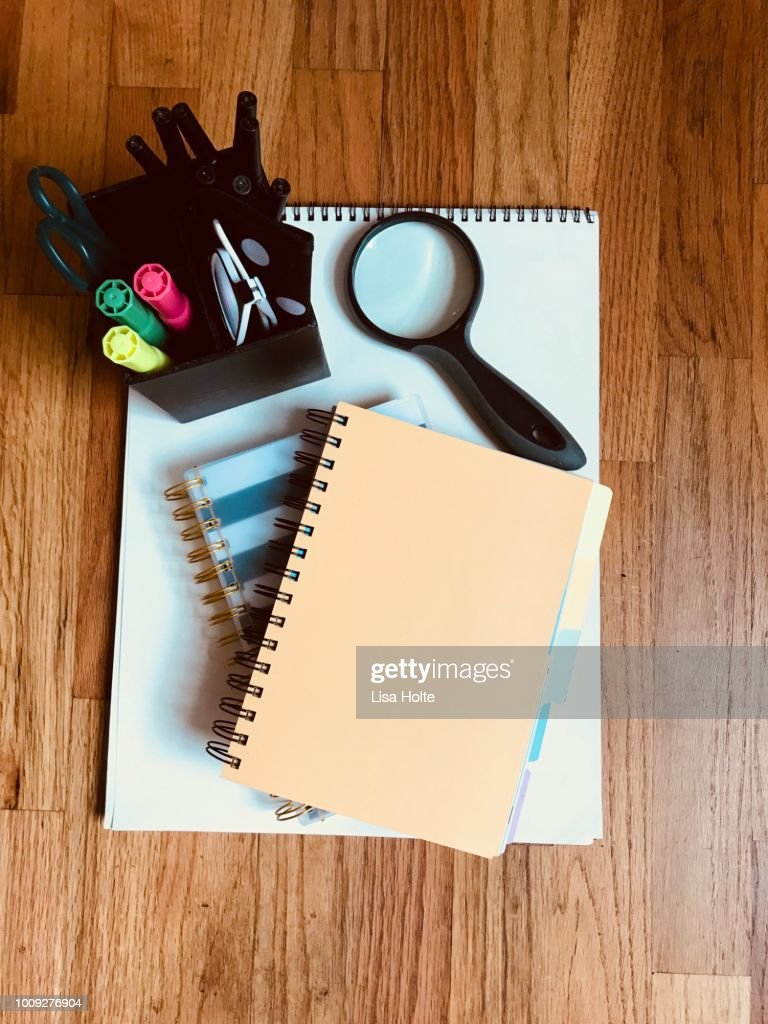 Studious Vibes : Stock Photo