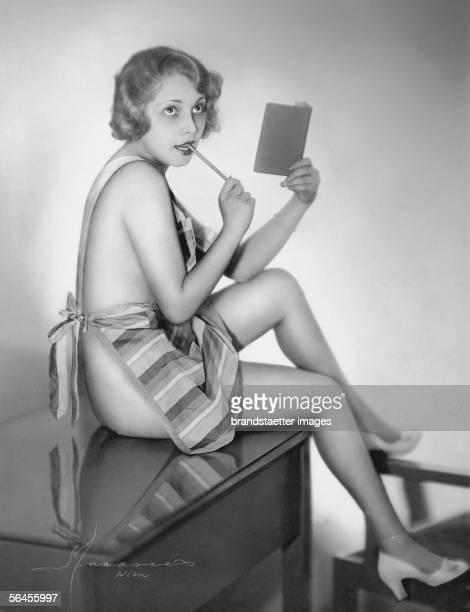 Study Anny Schwarz Photography by Manasse Around 1931 [Studie Anny Schwarz Photographie von Manasse Um 1931]