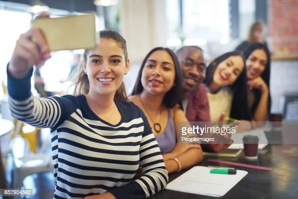 Studie-Pausen sind unsere Selfie Zeit