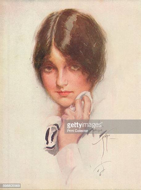 A Study circa 1914 From King Alberts Book [The Daily Telegraph London 1914] Artist Harrison Fisher