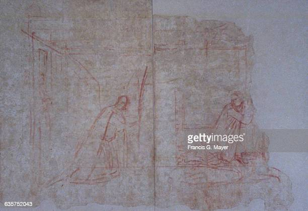 Study for The Annunciation by Ambrogio Lorenzetti