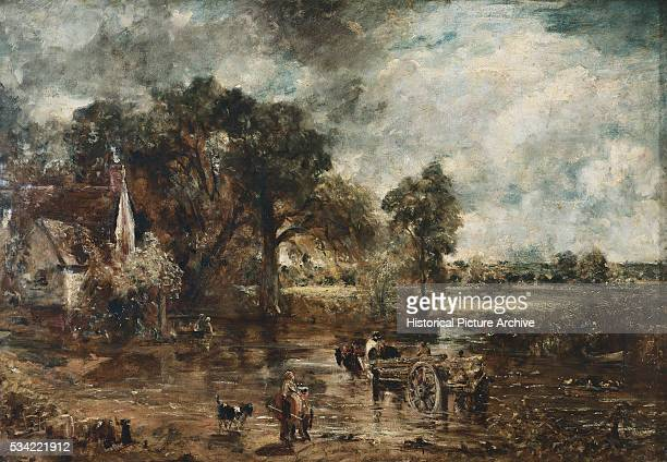 Study for The Hay Wain by John Constable