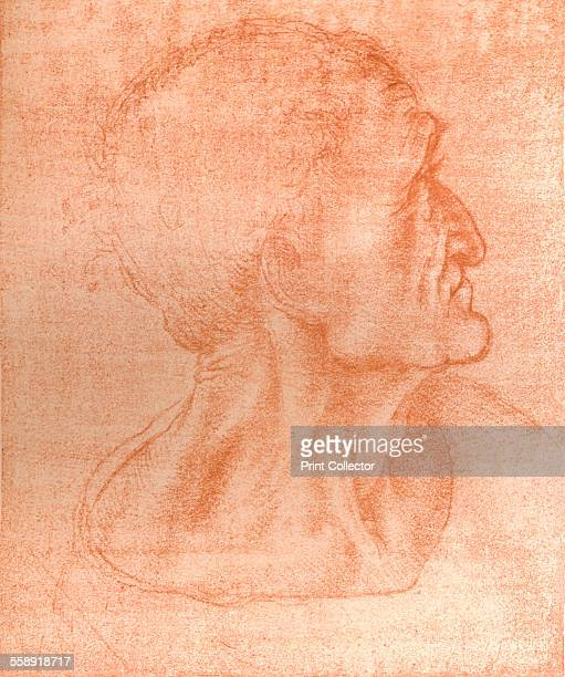 Study for the head of Judas in `The Last Supper` c1494c1499 From The Literary Works of Leonardo Da Vinci Vol 1 by Jean Paul Richter PH DR [Sampson...