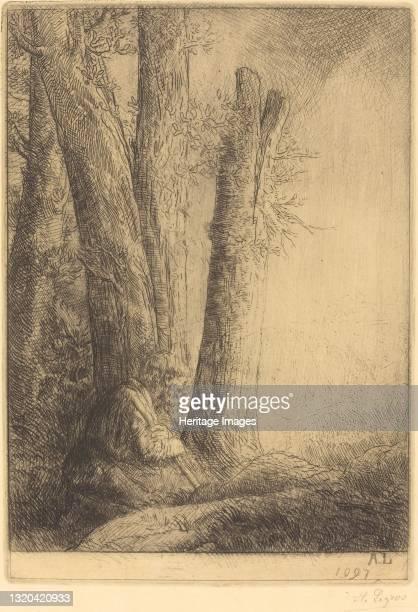 Study for the Prodigal Son . Artist Alphonse Legros.