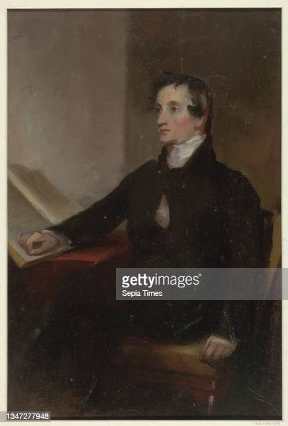 Study for 'The Reverend Thomas Stockton,' San Francisco Museum of Fine Arts, San Francisco, CA, Thomas Sully, 1783 – 1872, Brush and oil paint on...