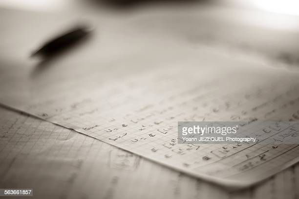 study math - baccalaureat stock pictures, royalty-free photos & images